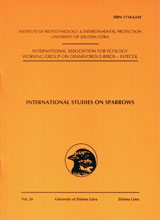 International Studies on Sparrows